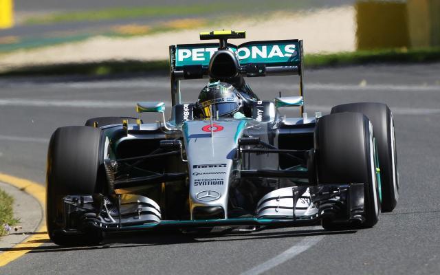 Image of Mercedes-Benz F1 W07 Hybrid
