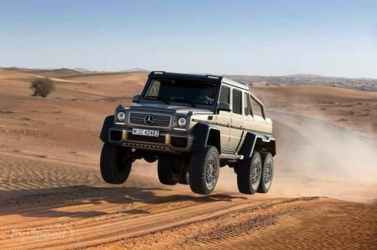 Image of Mercedes-Benz G 63 AMG 6x6