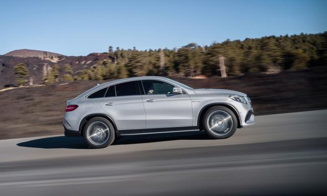 Image of Mercedes-Benz GLE Coupe 63 AMG