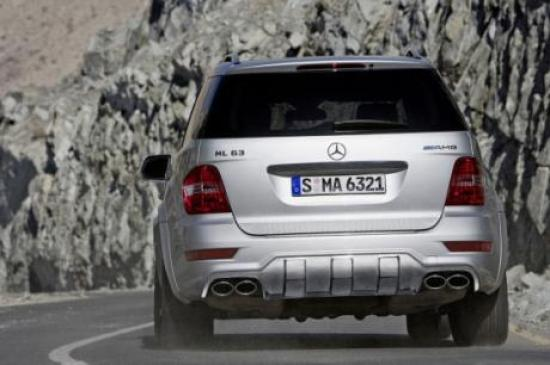 Image of Mercedes-Benz ML 63 AMG