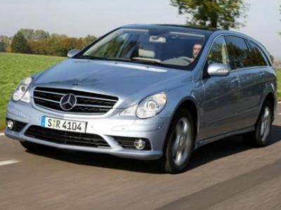Image of Mercedes-Benz R 350 BlueTEC 4Motion
