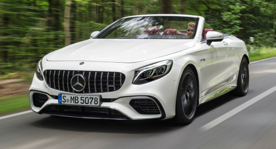 Image of Mercedes-Benz S 63 4Matic+ Cabriolet