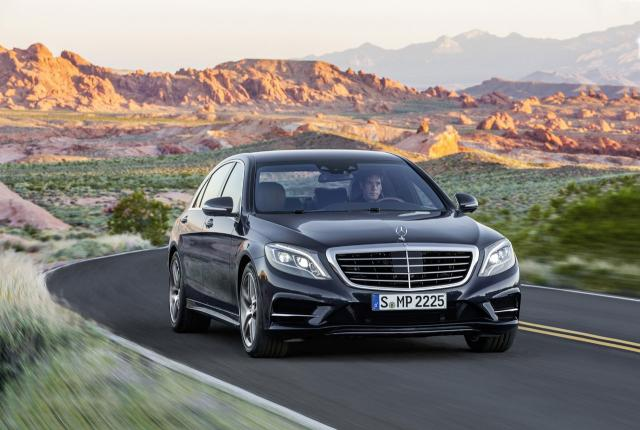 Image of Mercedes-Benz S63 AMG