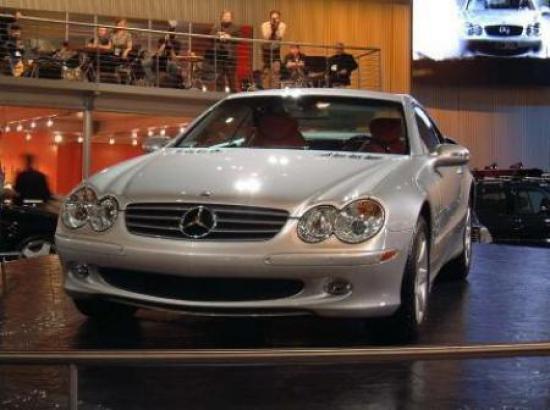 Image of Mercedes-Benz SL 500
