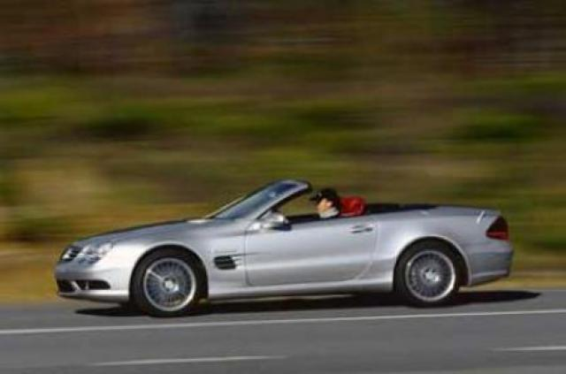 Image of Mercedes-Benz SL 55 AMG