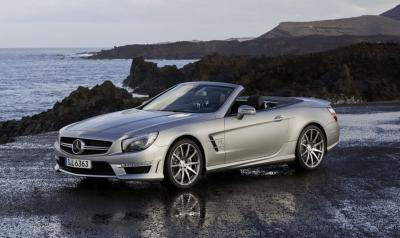 Image of Mercedes-Benz SL 63 AMG