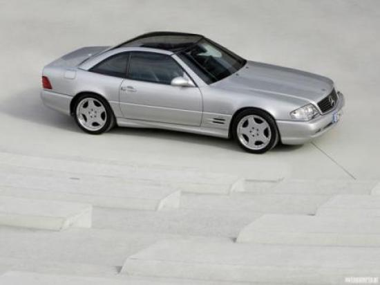 Image of Mercedes-Benz SL 73 AMG