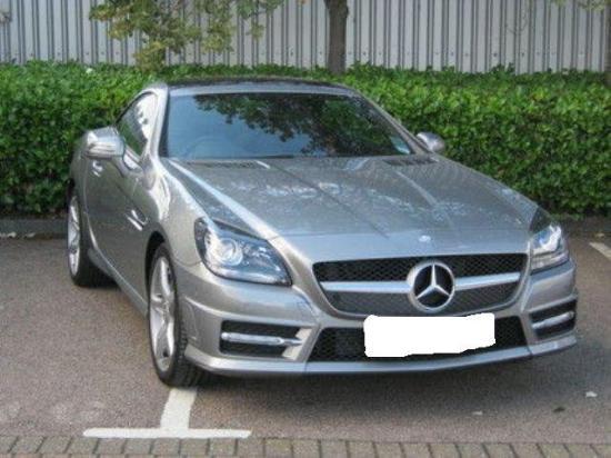 Image of Mercedes-Benz SLK 200 BlueEFFICIENCY