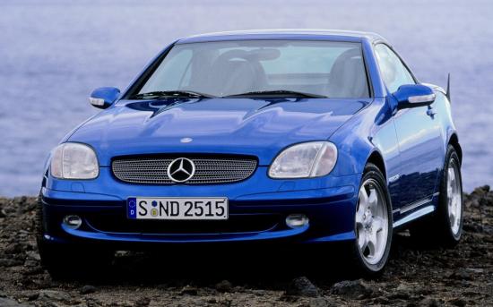 Image of Mercedes-Benz SLK 200
