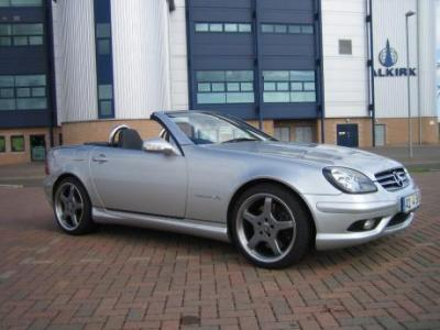 Image of Mercedes-Benz SLK 32 AMG