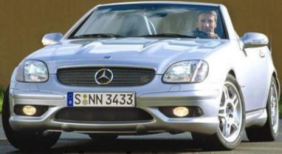 Image of Mercedes-Benz SLK 32 AMG