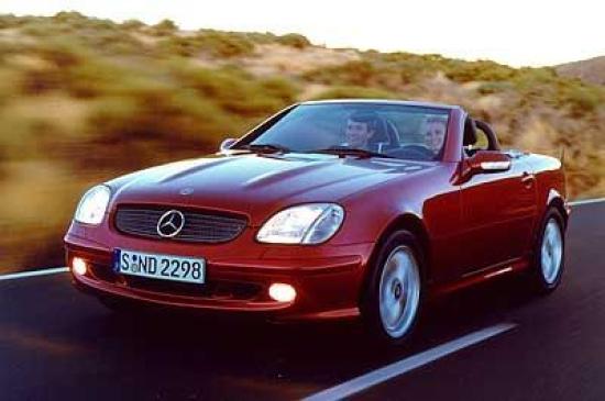 Image of Mercedes-Benz SLK 320