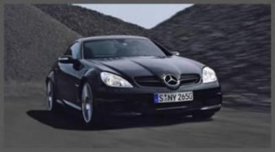 Image of Mercedes-Benz SLK 55 AMG Black Series