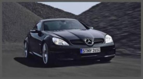 Image of Mercedes-Benz SLK 55 AMG Black Series