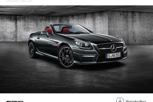 Picture of Mercedes-Benz SLK 55 AMG (R172)