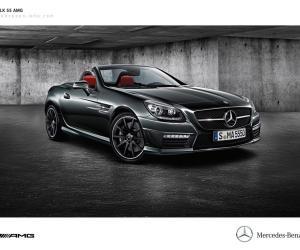 Picture of Mercedes-Benz SLK 55 AMG