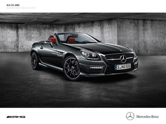 Image of Mercedes-Benz SLK 55 AMG
