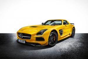 Picture of Mercedes-Benz SLS AMG Black Series