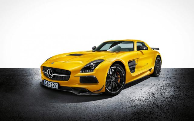 Image of Mercedes-Benz SLS AMG Black Series