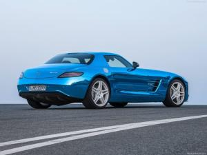 Photo of Mercedes-Benz SLS AMG Coupe Electric Drive
