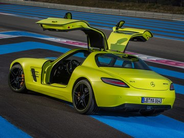 Photo Of Mercedes Benz Sls Amg Coupe Electric Drive
