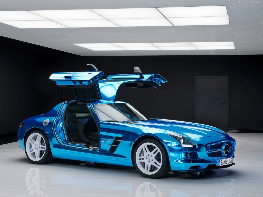 Image Of Mercedes Benz Sls Amg Coupe Electric Drive