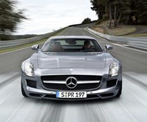 Picture of Mercedes-Benz SLS AMG