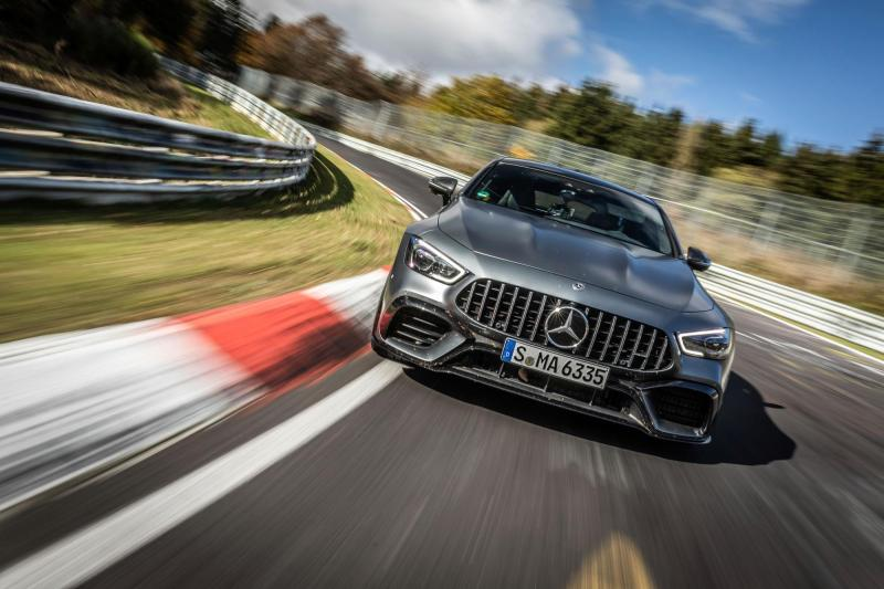 Cover for Mercedes strikes back at Porsche for a new 4-door Nürburgring record