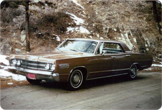 Image of Mercury Monterey Super Sedan 427