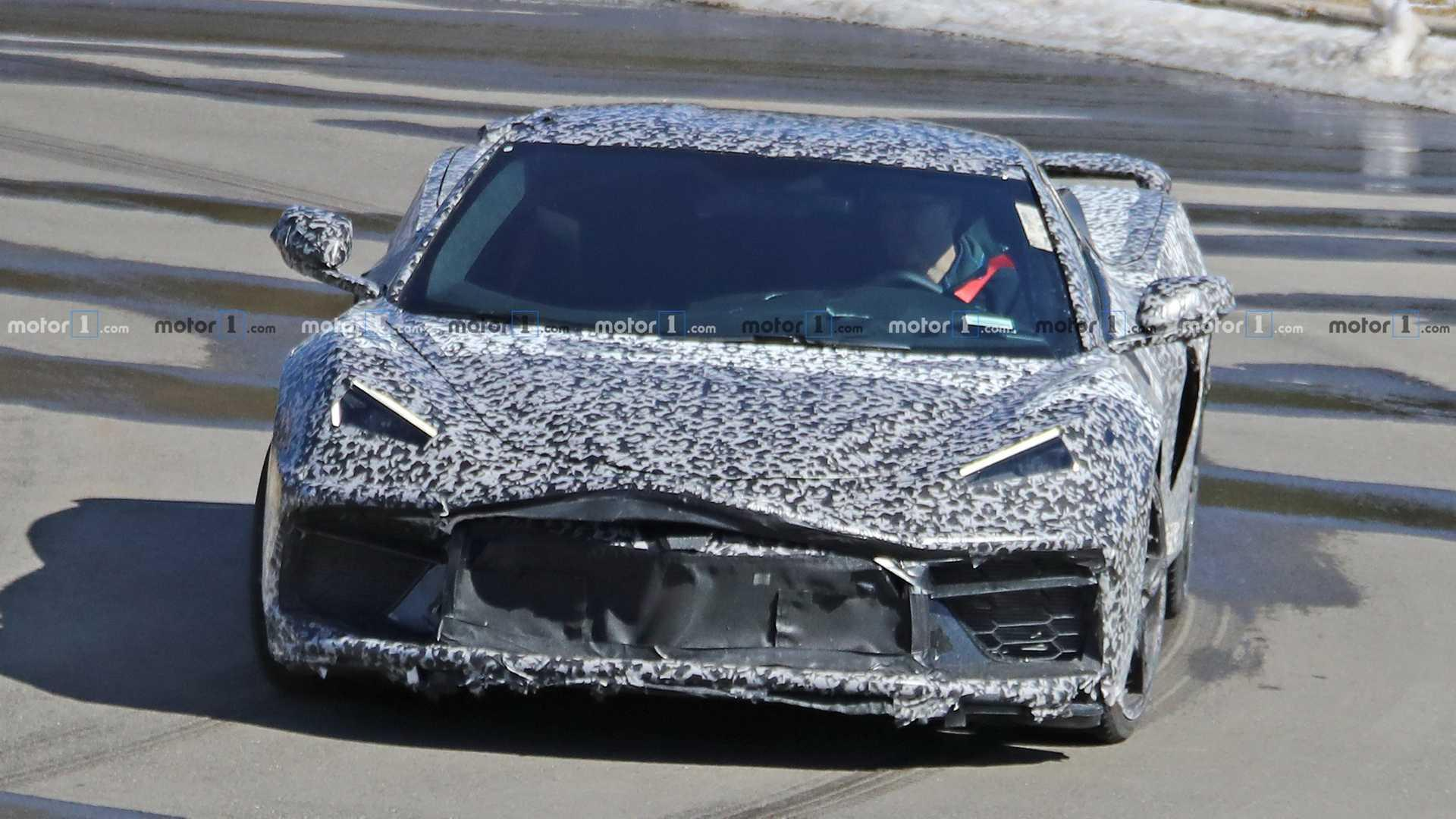 Mid-Engine Corvette C8: Our Best Look At Production Front