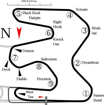 Image of Miller Motorsports Park (West Course)