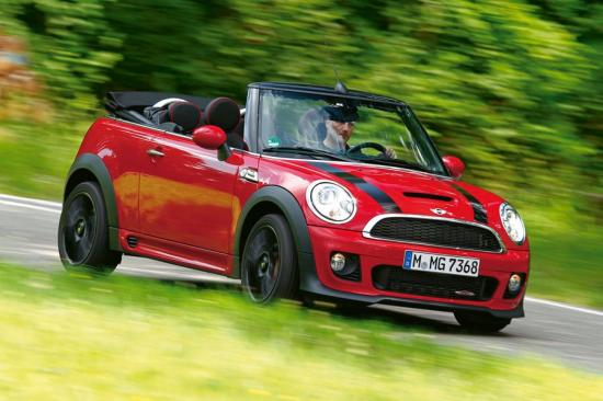 Image of Mini Cooper JCW Cabrio