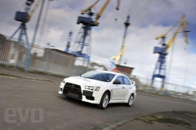 Image of Mitsubishi Evo X RS