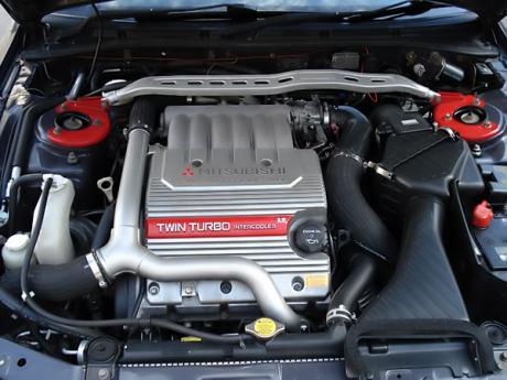 Mitsubishi Galant VR-4 V6 laptimes, specs, performance data