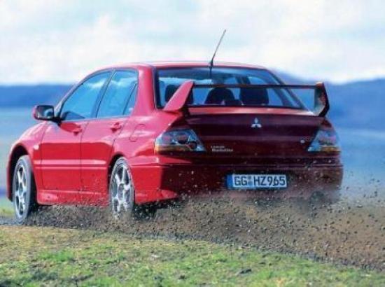 Image of Mitsubishi Lancer Evo VIII