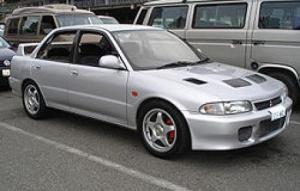 Photo of Mitsubishi Lancer Evolution I GSR