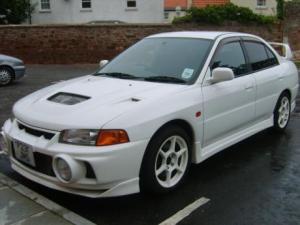 Photo of Mitsubishi Lancer Evolution IV GSR