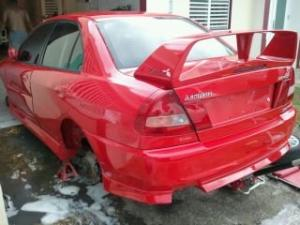 Photo of Mitsubishi Lancer Evolution IV GSR