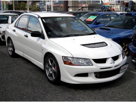 Image of Mitsubishi Lancer Evolution VIII RS