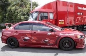 Photo of Mitsubishi Lancer Evolution X Ralliart