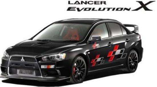 Image of Mitsubishi Lancer Evolution X Ralliart