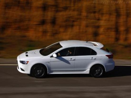 Image of Mitsubishi Lancer Sportback Ralliart