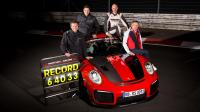 Cover for Modified Porsche GT2 RS beats Nürburgring record