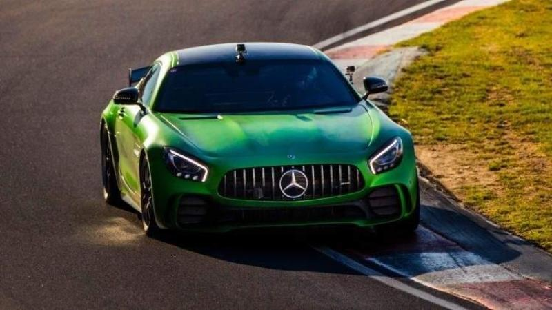 Cover for New Mount Panorama Bathurst lap record for Mercedes AMG GTR
