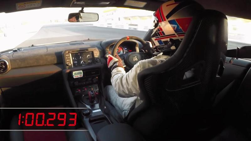 "Cover for Nissan GT-R Nismo brings new Tsukuba lap record for ""cars with doors"""