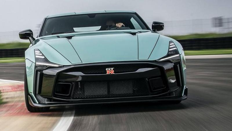 Cover for Nissan revealed the final form of the GT-R50