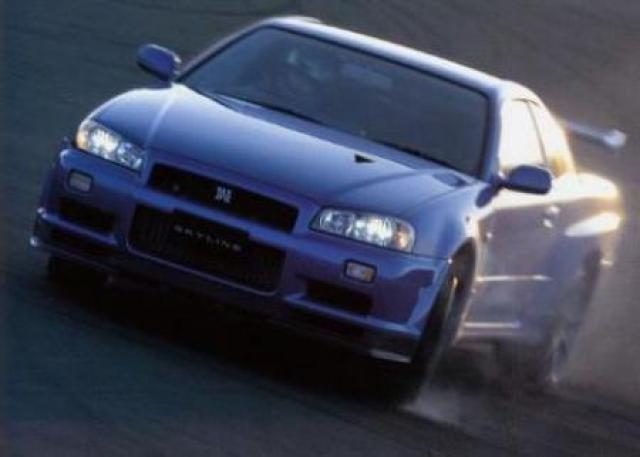 Nissan Skyline GT-R R34 laptimes, specs, performance data