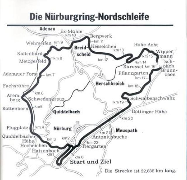 Image of Nürburgring Nordschleife (1973-1982)
