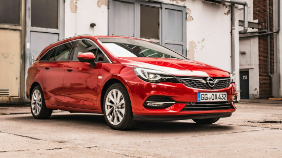 Image of Opel Astra Sports Tourer 1.2 DI Turbo