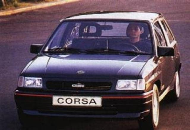 Opel Corsa Gsi A Laptimes Specs Performance Data Fastestlapscom